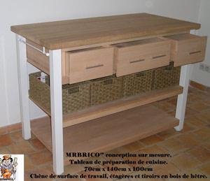 Conception et fabrication de mobilier sur mesure en bois, Toulon