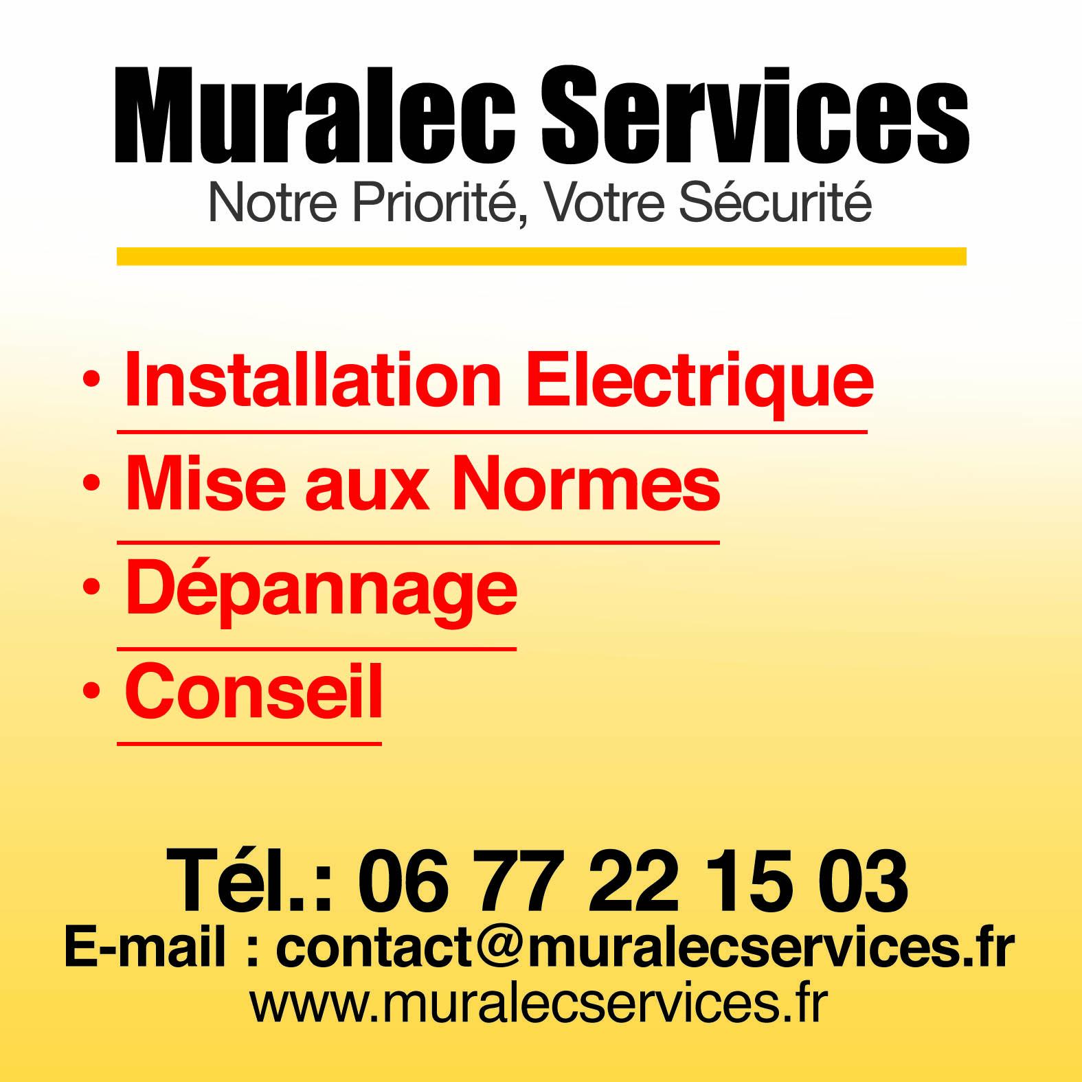 MURALEC SERVICES Electricien