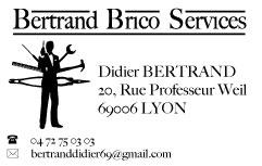 Bertrand Bricolage Service Lyon , homme toutes mains soigné moins cher
