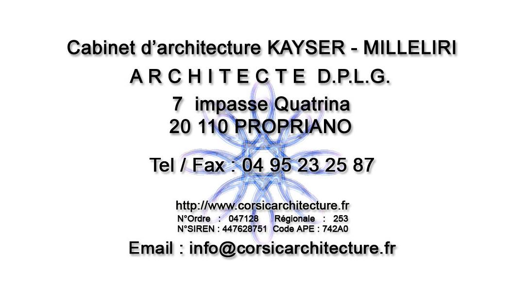 Architecture et architecte DPLG pour vos projets en Corse