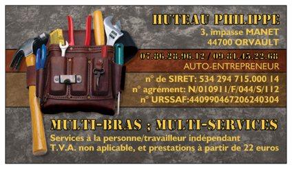 multi-bras; multi-services Orvault (44700)