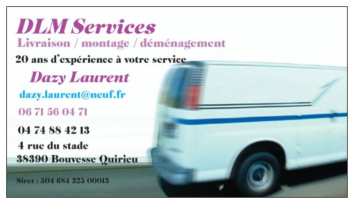Livraison / montage / installation de vos meubles Bouvesse quirieu