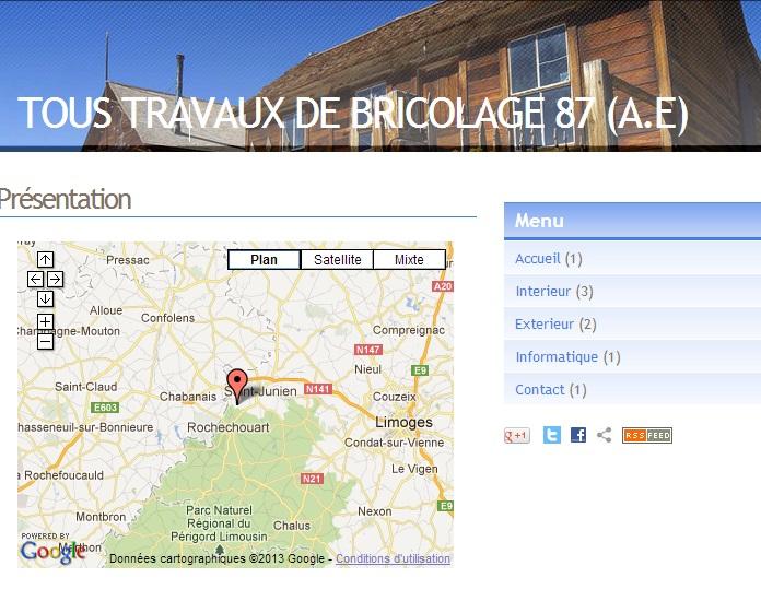 TOUS TRAVAUX DE BRICOLAGE 87