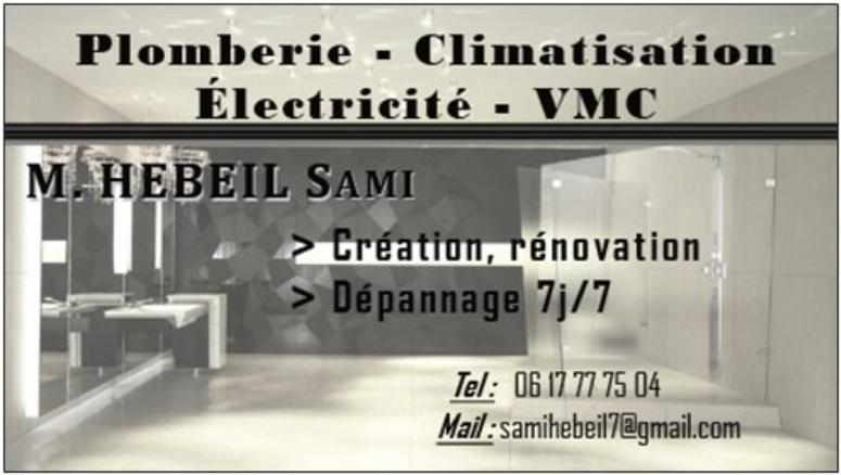 PLOMBERIE – CLIMATISATION – VMC sur l\'Iles De France