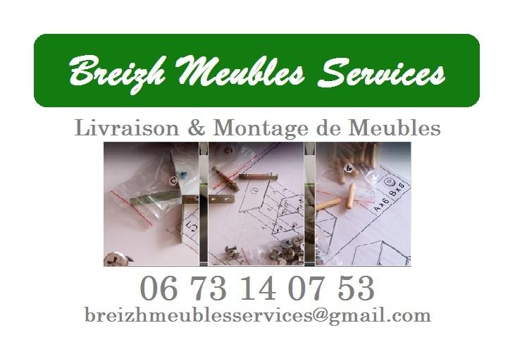 Livraison & Montage de meubles Rennes, Vitré, Laval