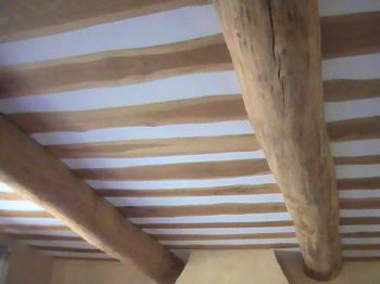Plafond for Fausses poutres pour plafond