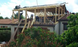 Surelevation de toiture