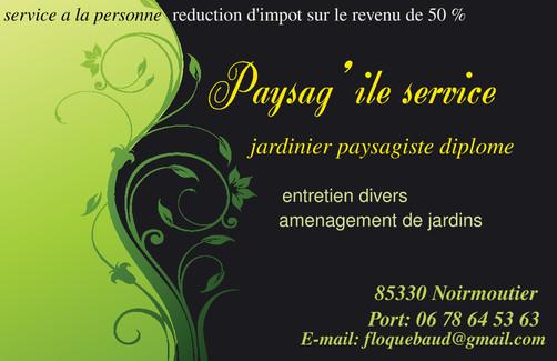 Noirmoutier devis travaux noirmoutier 85330 for Tarif jardinier paysagiste